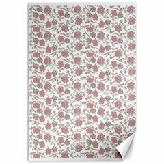 Roses pattern Canvas 12  x 18