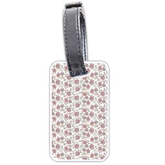 Roses pattern Luggage Tags (One Side)