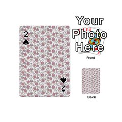 Roses pattern Playing Cards 54 (Mini)