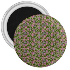 Roses pattern 3  Magnets