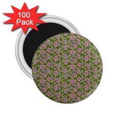 Roses pattern 2.25  Magnets (100 pack)