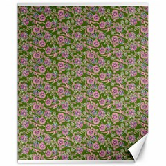 Roses pattern Canvas 16  x 20