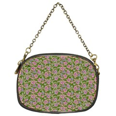 Roses pattern Chain Purses (One Side)