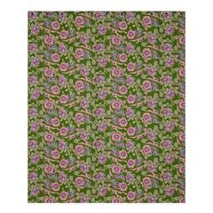 Roses pattern Shower Curtain 60  x 72  (Medium)