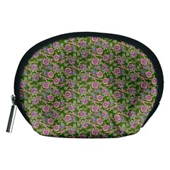 Roses pattern Accessory Pouches (Medium)