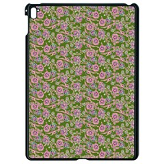 Roses pattern Apple iPad Pro 9.7   Black Seamless Case