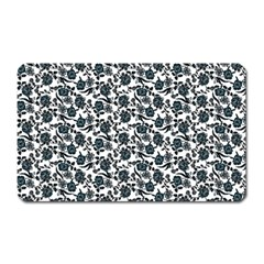 Roses pattern Magnet (Rectangular)