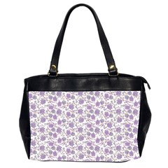 Roses pattern Office Handbags (2 Sides)