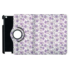 Roses pattern Apple iPad 2 Flip 360 Case