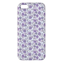 Roses pattern Apple iPhone 5 Premium Hardshell Case