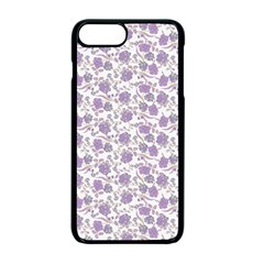 Roses pattern Apple iPhone 7 Plus Seamless Case (Black)