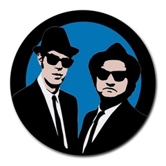 Blues Brothers  Round Mousepads