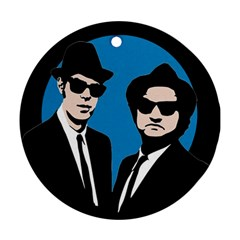 Blues Brothers  Ornament (Round)