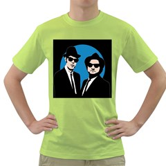 Blues Brothers  Green T-Shirt