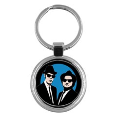 Blues Brothers  Key Chains (Round)