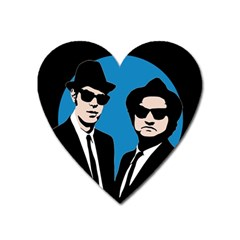 Blues Brothers  Heart Magnet