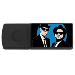 Blues Brothers  USB Flash Drive Rectangular (4 GB)
