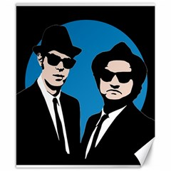 Blues Brothers  Canvas 8  x 10