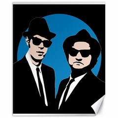 Blues Brothers  Canvas 11  x 14