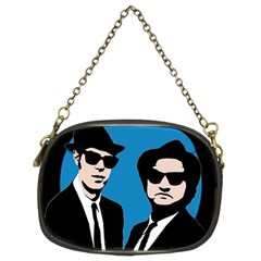 Blues Brothers  Chain Purses (Two Sides)