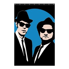 Blues Brothers  Shower Curtain 48  x 72  (Small)