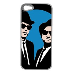 Blues Brothers  Apple iPhone 5 Case (Silver)