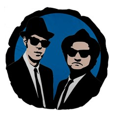 Blues Brothers  Large 18  Premium Round Cushions
