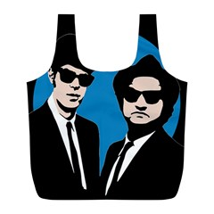 Blues Brothers  Full Print Recycle Bags (L)