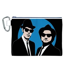 Blues Brothers  Canvas Cosmetic Bag (L)
