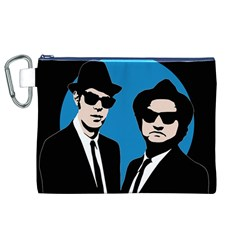 Blues Brothers  Canvas Cosmetic Bag (XL)