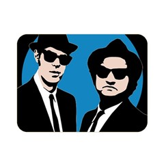 Blues Brothers  Double Sided Flano Blanket (Mini)