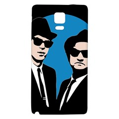 Blues Brothers  Galaxy Note 4 Back Case