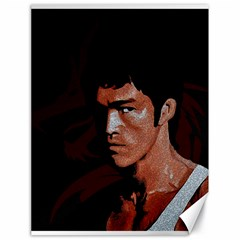 Bruce Lee Canvas 18  x 24