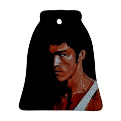 Bruce Lee Bell Ornament (Two Sides)