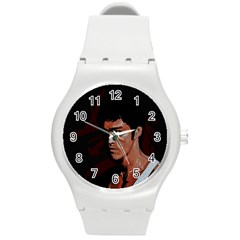 Bruce Lee Round Plastic Sport Watch (M)