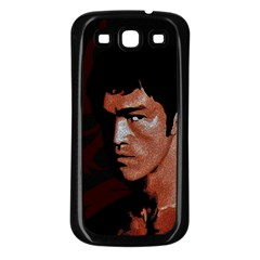 Bruce Lee Samsung Galaxy S3 Back Case (Black)