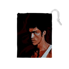 Bruce Lee Drawstring Pouches (Medium)