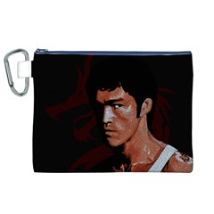 Bruce Lee Canvas Cosmetic Bag (XL)