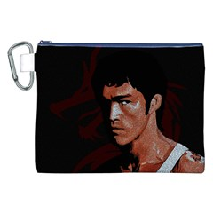 Bruce Lee Canvas Cosmetic Bag (XXL)