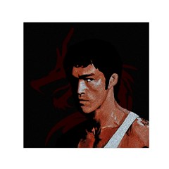 Bruce Lee Small Satin Scarf (Square)