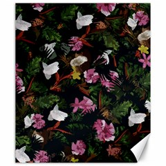 Tropical pattern Canvas 20  x 24