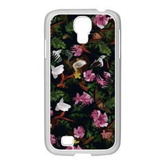 Tropical pattern Samsung GALAXY S4 I9500/ I9505 Case (White)