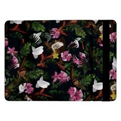 Tropical Pattern Samsung Galaxy Tab Pro 12 2  Flip Case