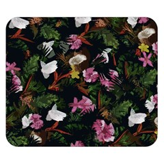 Tropical pattern Double Sided Flano Blanket (Small)