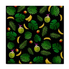 Tropical pattern Tile Coasters