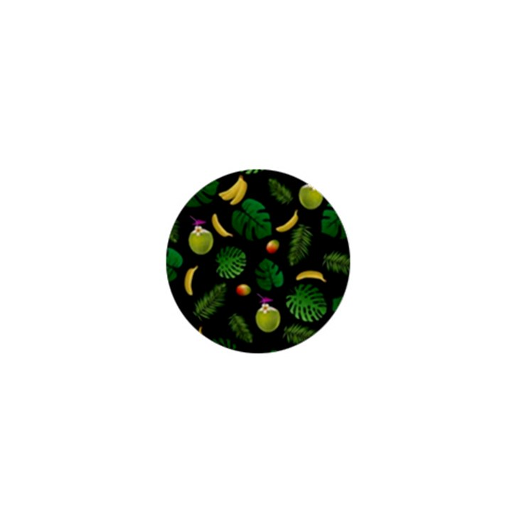 Tropical pattern 1  Mini Buttons