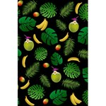 Tropical pattern 5.5  x 8.5  Notebooks Back Cover Inside