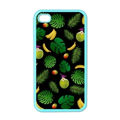 Tropical pattern Apple iPhone 4 Case (Color)