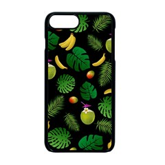 Tropical pattern Apple iPhone 7 Plus Seamless Case (Black)