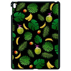 Tropical pattern Apple iPad Pro 9.7   Black Seamless Case